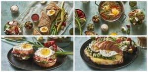 תפריט עשיר ומגוון של ארוחות בוקר | צילומים: אנטולי מיכאלו