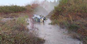 מכוניתו של ההרוג סמוך לגבעת ניל