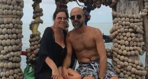 בצל בהלת הקורונה. שלומי ורוית אטיאס מבלים בתאילנד | צילום: עצמי