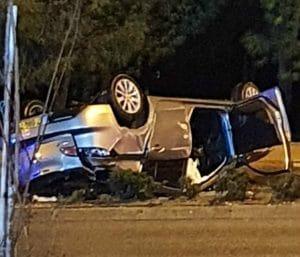 תאונת דרכים ברחוב החרושת