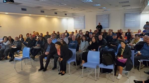 אירוע שיתוף הציבור בחדרה. צילום: החברה הכלכלית