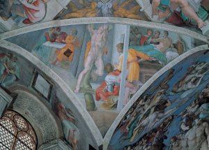 המן הרשע בקפלה הסיסטינית (מיכאלאנג'לו) | הבלוג היומי של עלית קרפ