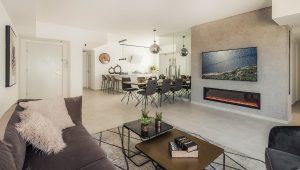 דירת 6 חדרים לדוגמה בפרויקט URBAN TOWER של חברת שרביב בקרית מוצקין | צילום: עינת דקל