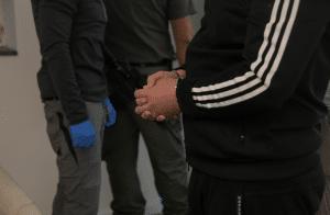 מעצר חשוד צילום: דוברות המשטרה