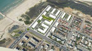 שכונת נווה חוף העתידית בקרית ים   הדמיה: באדיבות העירייה