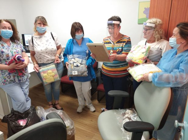 הנציגות | צילום: דוברות המרכז הרפואי לגליל