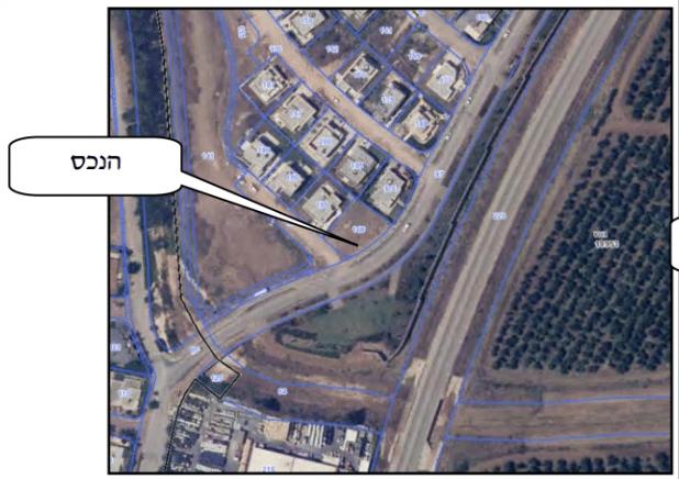 מרחב מחיה ופרטיות - מגרש למכירה בהרחבת שבי ציון | צילום: צילום אויר מפות ישראל