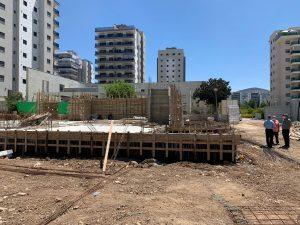 בית הכנסת מוקם ברובע יזרעאל (צילום עצמי)