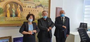 מבקר המדינה אצל עלי סלאם (צילום עצמי)