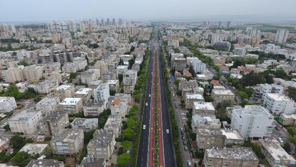 ציר דרך עכו-חיפה בקריות   צילום: יח