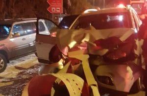 תאונה סמוך לגשר הזיו צילום: דוברות איחוד הצלה