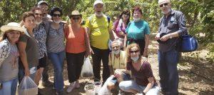 הגמלאים בטיול ברמת הגולן (צילום עצמי)