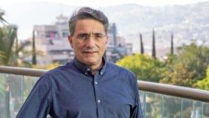 משה קונינסקי בלשכה | צילום: אלכס הובר