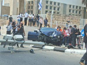 תאונת דרכים קשה בעכו - צילום: דוברות איחוד הצלה