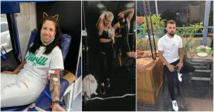 מימין לשמאל: אבישי אדרי, ליזה דימטריב, לירון סרגה וגולדי אלון   צילומים: עצמיים