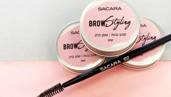 סבון לעיצוב גבות של SACARA | צילום: קית גלסמן