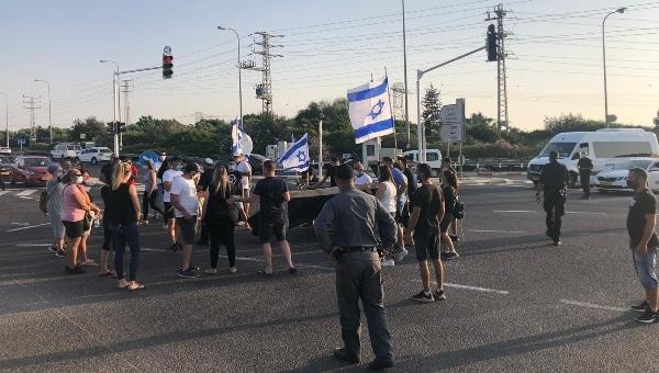 הפגנה בצומת כברי | צילום: רינה קיסלמן