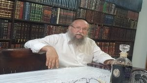 הרב אהרון דרילמן \ צילום: איילת קדם