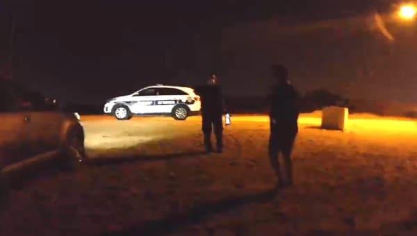 מפר בידוד נעצר | צילום: דוברות המשטרה