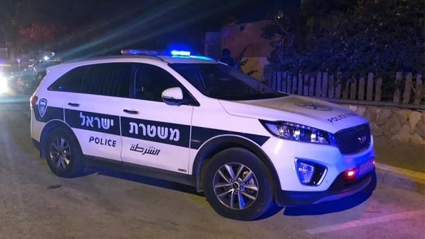 חשד לפגע וברח בבית שאן. צילום: דוברות משטרת ישראל