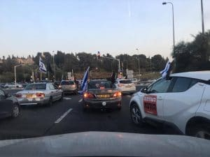 מחאת הרכבים \ צילום: שירי סמואלוב