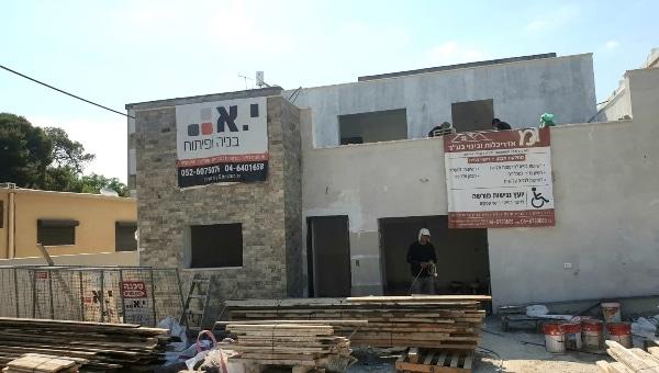 חברת י.א בניה ופיתוח בביצוע פרויקט | צילום: עצמי