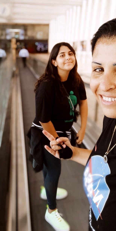 מורן ורומי מוסטקי | צילום עצמי