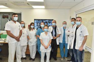 צוות קורונה ג' במרכז הרפואי לגליל | צילום: אלי כהן