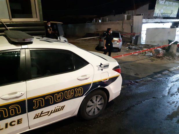 אירוע ירי בירכא | צילום: דוברות משטרת ישראל