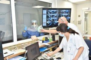 המרכז הרפואי לגליל במקום השני במדינה בכמות המאושפזים. מחלקת כתר ב'   צילום: אלי כהן