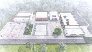 בית הספר ביאליק החדש | הדמיה: באדיבות העירייה