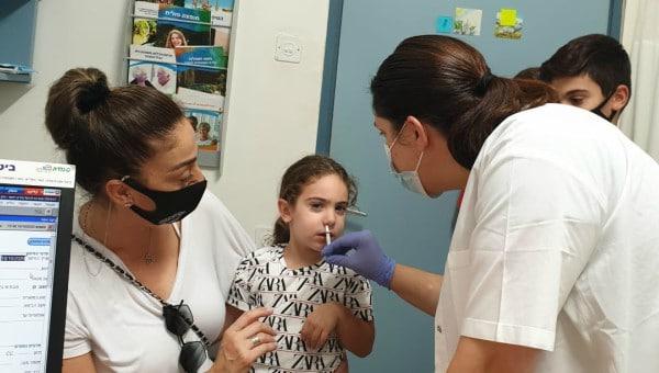 חיסוני שפעת לילדים במרפאות כללית במחוז | צילום: דוברות כללית