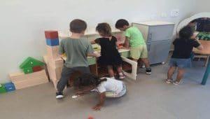 ילדי אחד הצהרונים בחדרה \ צילום: פנאי העיר