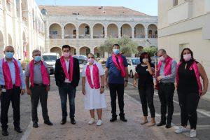 יום המודעות לסרטן השד בבית החולים הצרפתי. צילום: דוברות