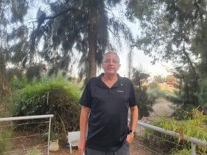יגאל אבן זיו, מייסד השלוחה הישראלית של 'מצעד החיים' \ צילום: איילת קדם