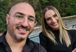 אילנית לוי ואסי הג'וקר | צילום עצמי
