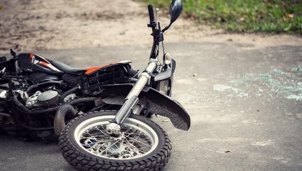 אופנוע לאחר תאונה | צילום אילוסטרציה shutterstock