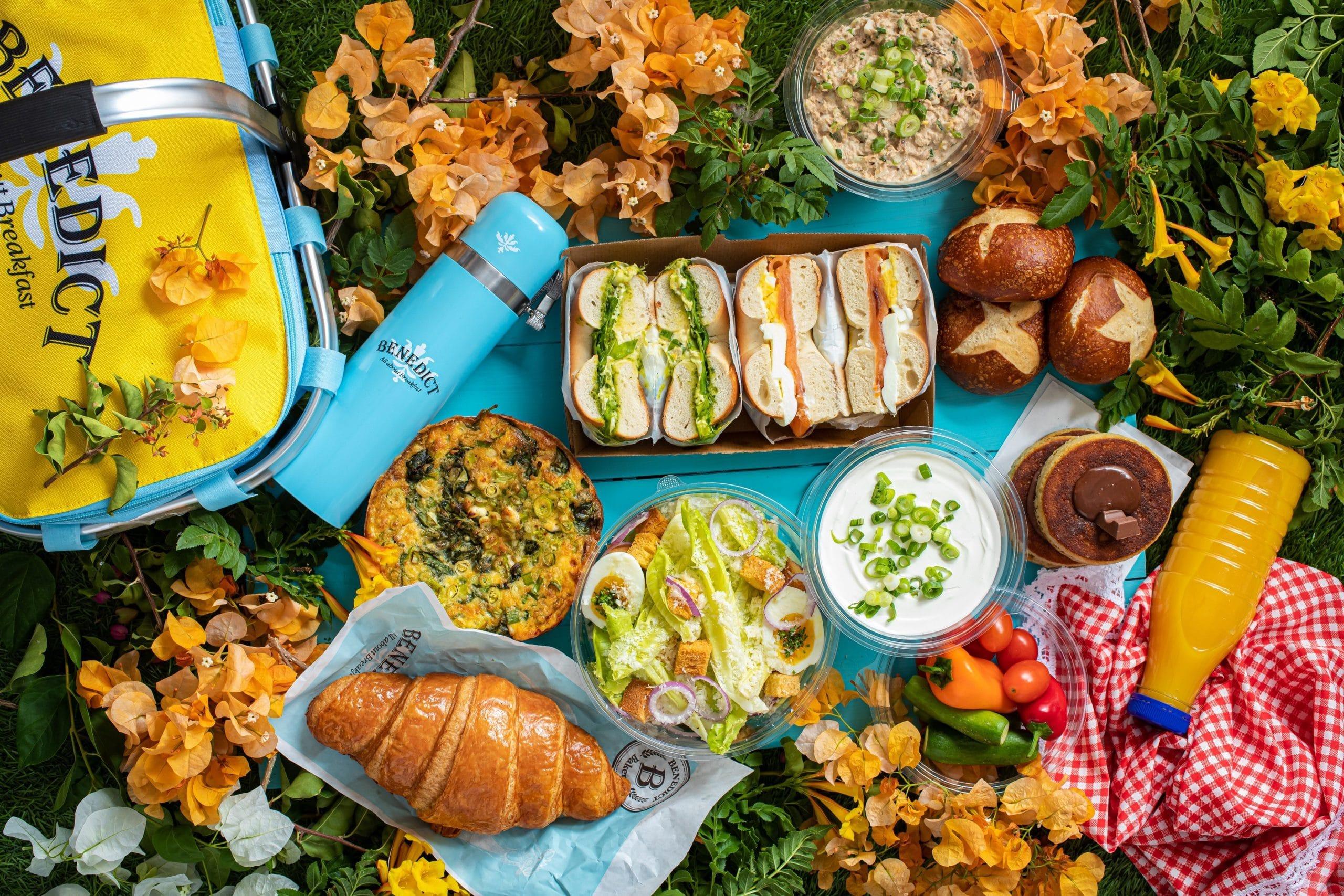 מארז הפיקניק החורפי החדש של בנדיקט | צילום: באדיבות רשת בנדיקט
