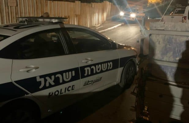 ניידת משטרה | צילום: דוברות המשטרה
