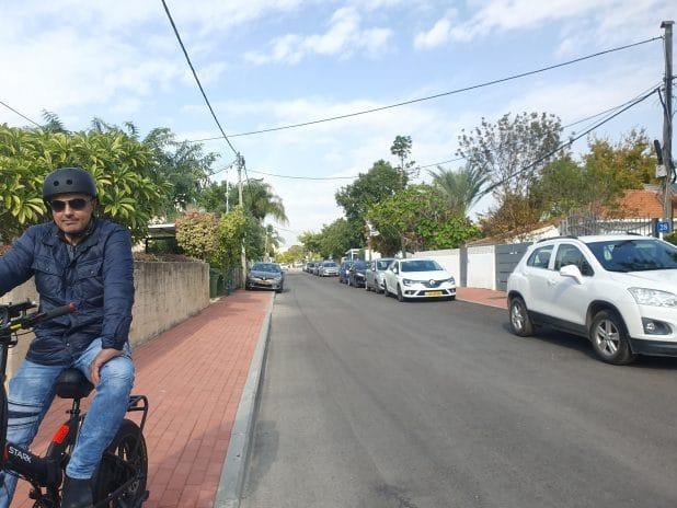 רחוב אוסישקין השבוע \ צילום: איילת קדם