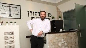 עורך הדין פז גולדהורן | צילום: מתוך האתר שלו (לפי 27א' לזכויות יוצרים)