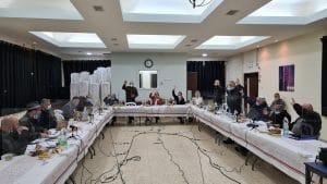 ההצבעה על התקציב | צילום: דוברות מועצת פרדס חנה
