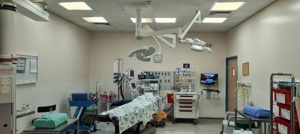 חדר ניתוח ריק בבית החולים לניאדו | צילום: עשהאל שחף, דוברות בית החולים