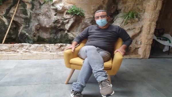 חסן ג'בארין החבר של איציק תשובה   צילום: איילת קדם