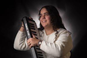 רותם יצחק. מפיקה מוזיקלית   צילום: דורון גולן