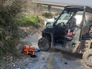 שני פועלים נפצעו | צילום: דוברות איחוד הצלה
