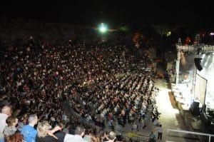 התיאטרון הרומי בבית שאן. צילום: עמירן עידו
