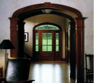 דלתות חוץ מעוצבות בהתאמה אישית. צילום: יח