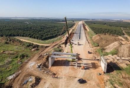 עבודות בכביש 859 המתוכנן | צילום: באדיבות נתיבי ישראל