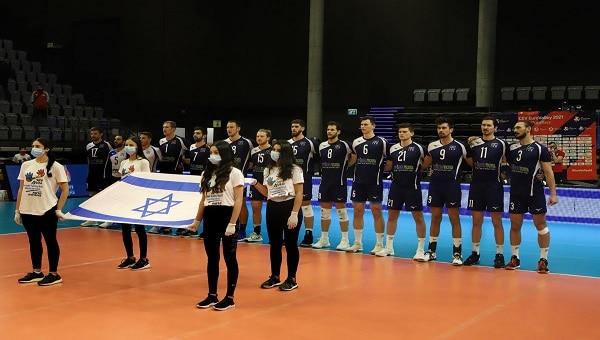 סיימה בכבוד. נבחרת ישראל (צילום: דיוויד סילברמן- איגוד הכדורעף)